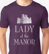 Lady of the Manor (white) Slim Fit T-Shirt
