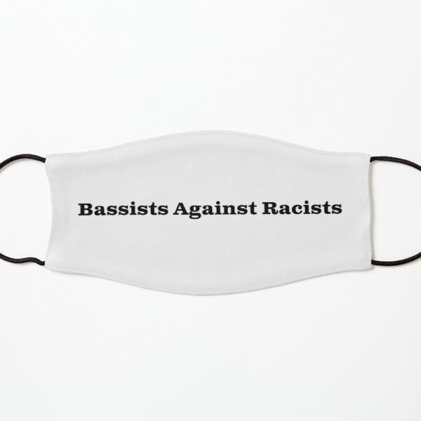 Bassists Against Racists Kids Mask