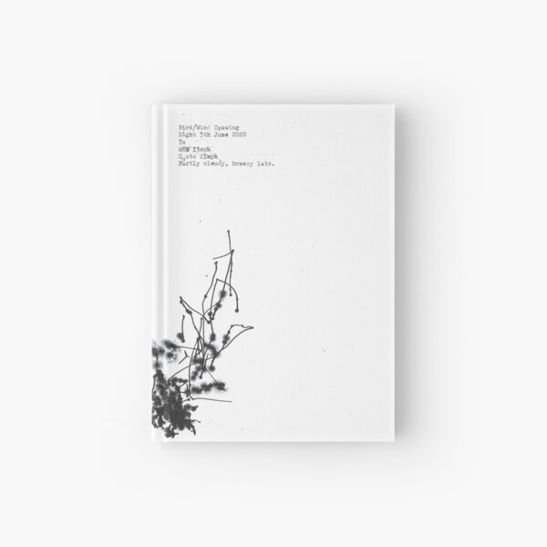 Drawings by birds and the wind 5th June 2020 Hardcover Journal