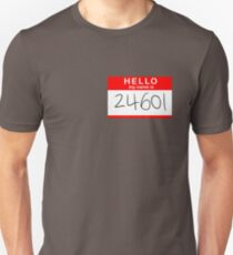 Valjean Unisex T-Shirt