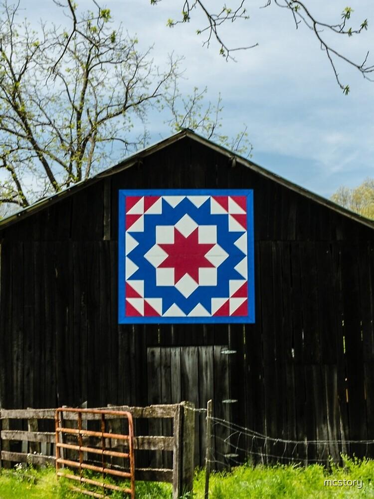 Kentucky Barn Quilt - Tischler Rad von mcstory