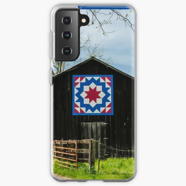 Kentucky Barn Quilt - Carpenters Wheel Samsung Galaxy Soft Case