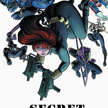 Secret Avengers by robzbertz