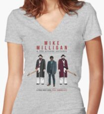 Mike Milligan & The Kitchen Brothers - FARGO Fitted V-Neck T-Shirt