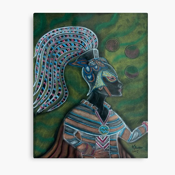 Trust in the Divine Goddess Within You Metal Print