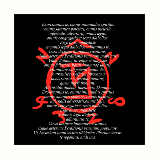 übernatürlicher Exorzismus Und Angel Warding Kunstdrucke Von