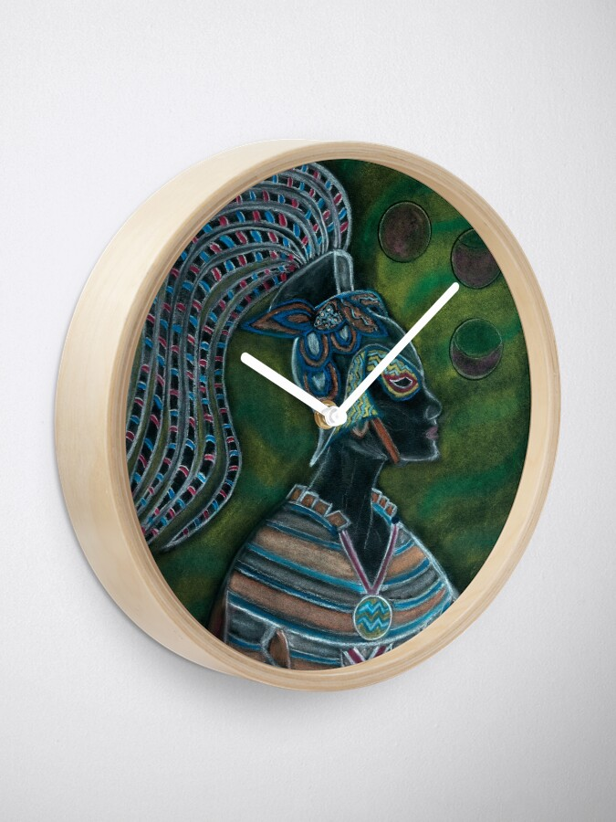 Alternate view of Trust in the Divine Goddess Within You Clock