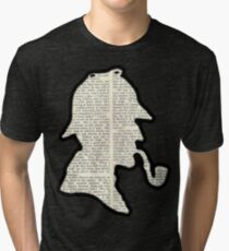 Classic Sherlock Holmes Silhouette - Scandal in Bohemia Tri-blend T-Shirt