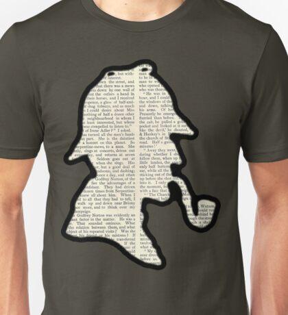 Classic Sherlock Holmes Silhouette - Scandal in Bohemia Unisex T-Shirt