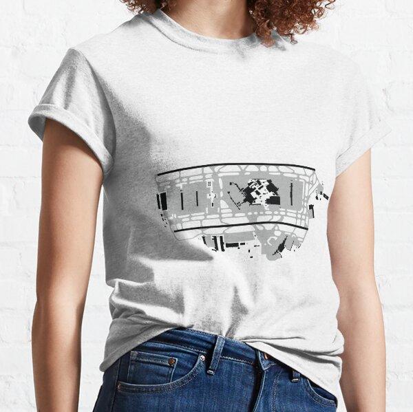 London Heathrow Airport Map Classic T-Shirt