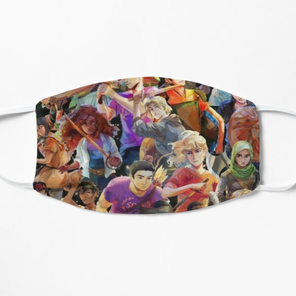 Percy Jackson, Magnus Chase, Heroes of Olympus Flat Mask