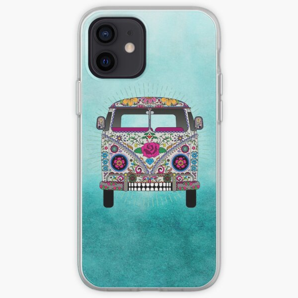 Tattoed Hippie Van iPhone Soft Case