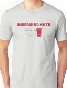 Undergrad Math Unisex T-Shirt