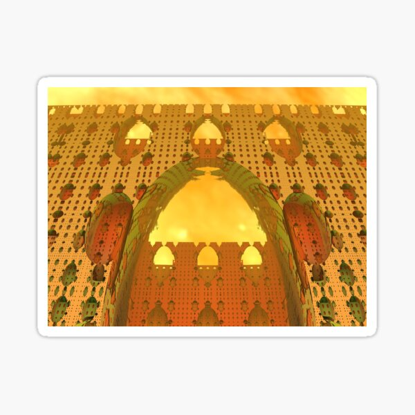 Arabian Delights by Spaced Painter Sticker