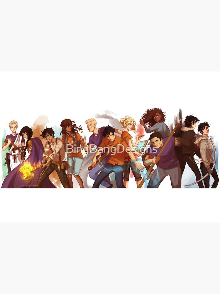 percy jackson-Heroes of Olympus by BingBangDesigns