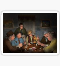 Poker - Poker face 1939 Sticker