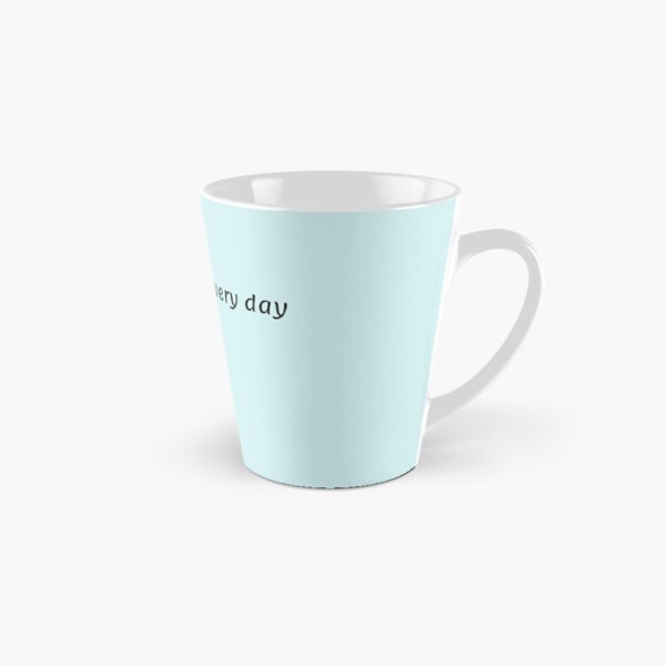 Pet your cats every day black Tall Mug