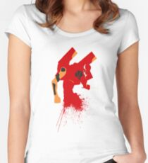 Unit 02 Women's Fitted Scoop T-Shirt