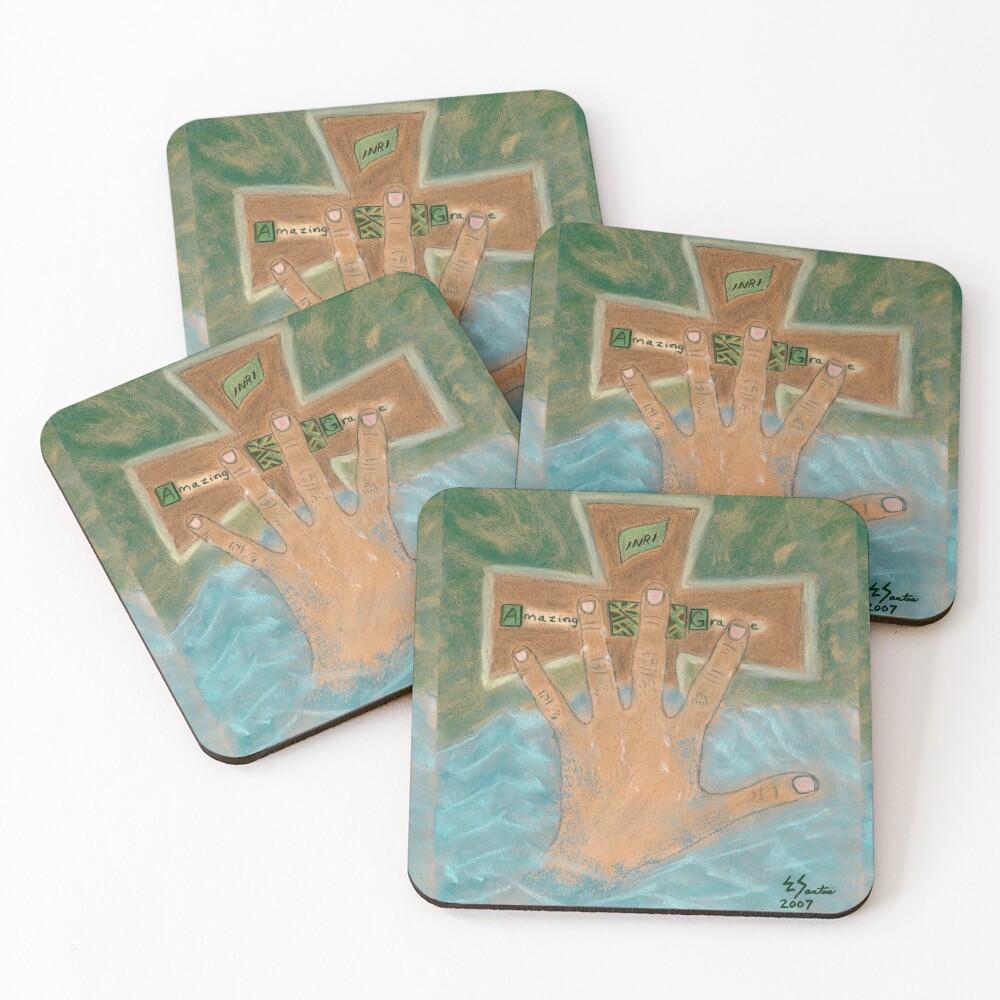 Amazing Grace Coasters (Set of 4)