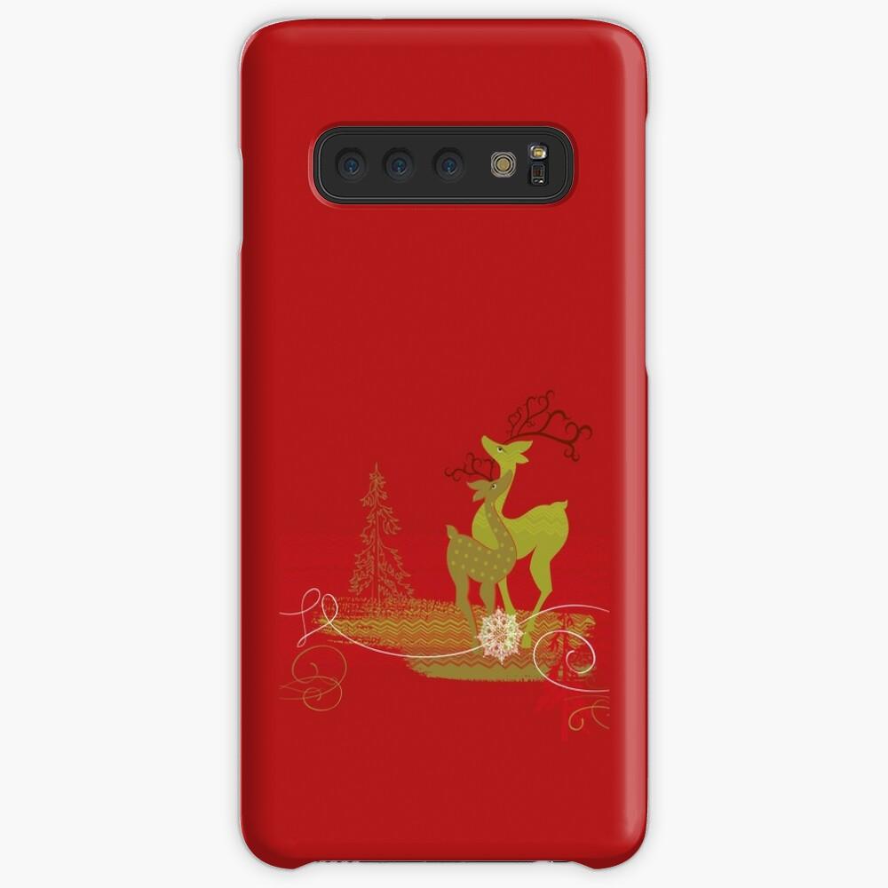 Elegance Couple Deer Case & Skin for Samsung Galaxy