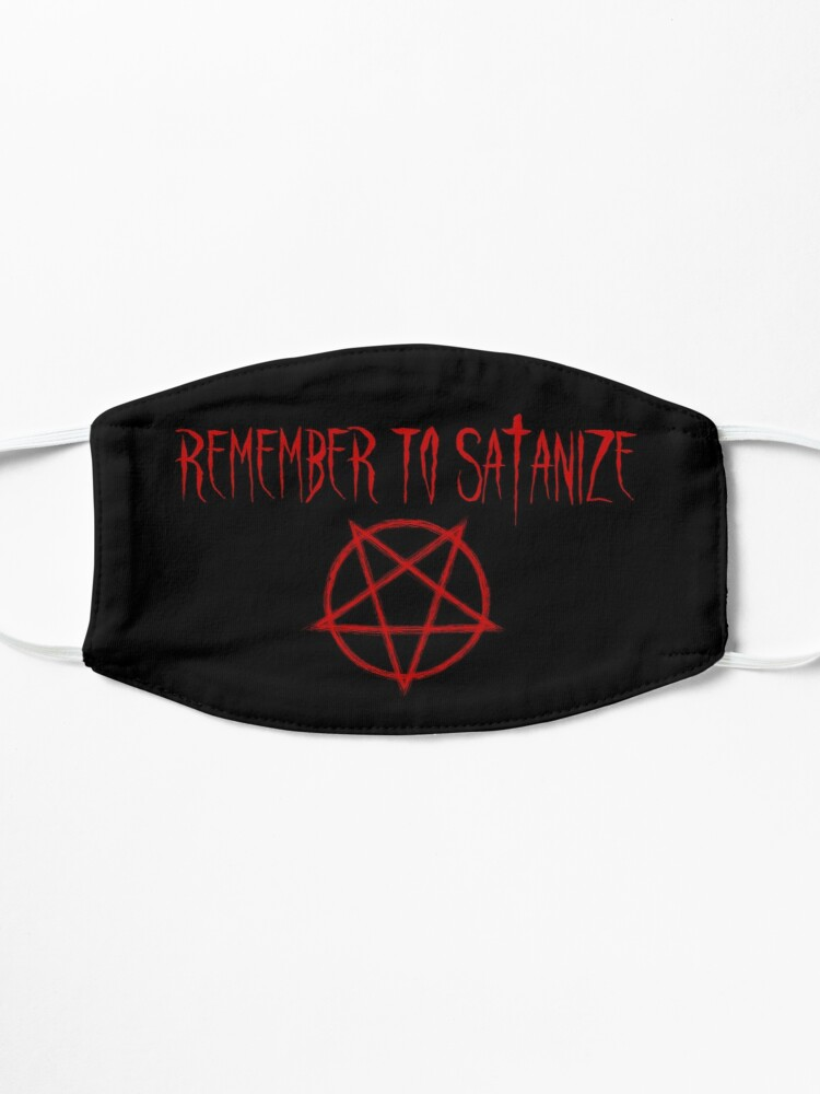 Alternate view of Remember to Satanize Mask