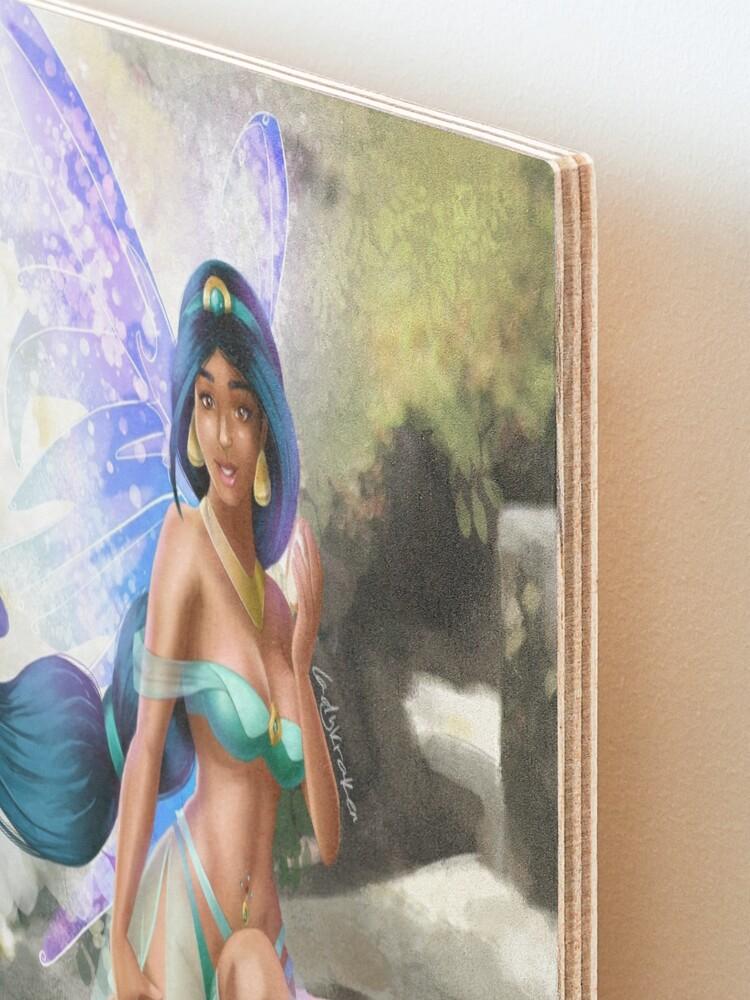 Alternate view of Bread Fairy Bikini Mounted Print