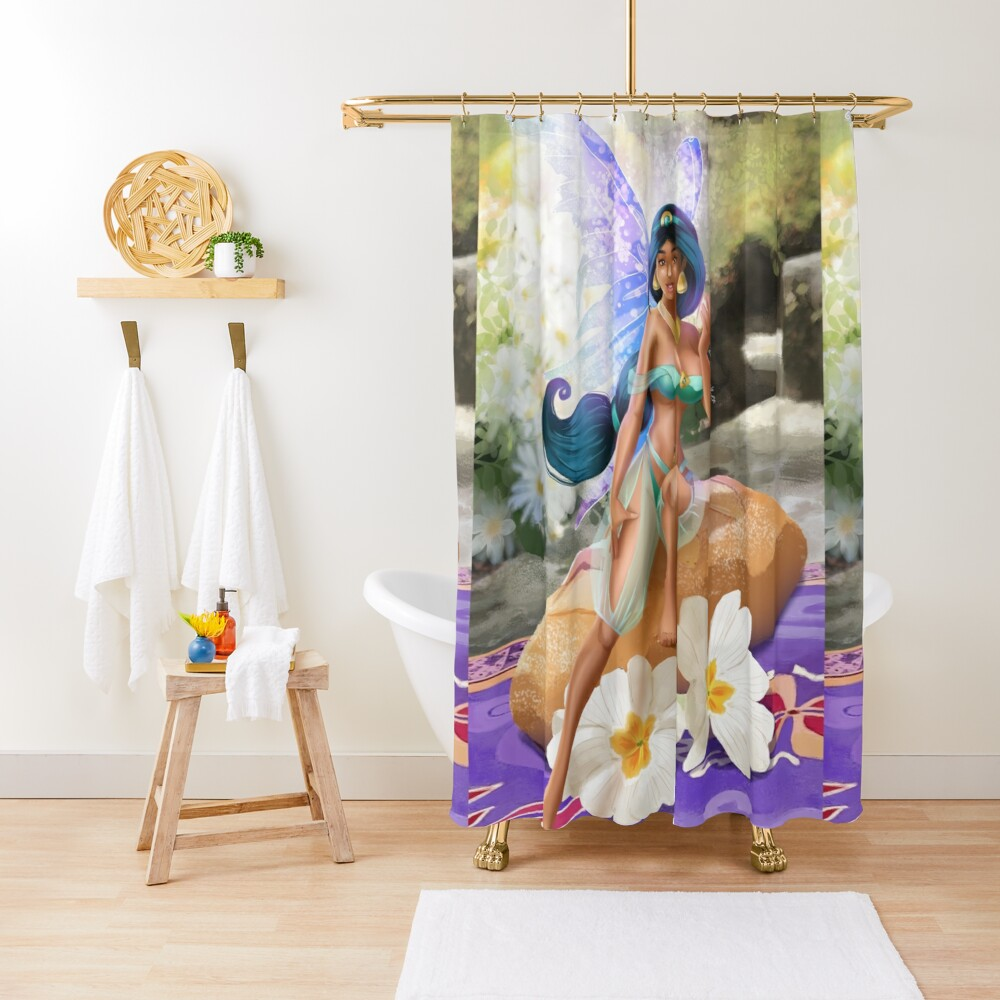 Bread Fairy Bikini Shower Curtain