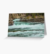 Kootenai Falls Greeting Card