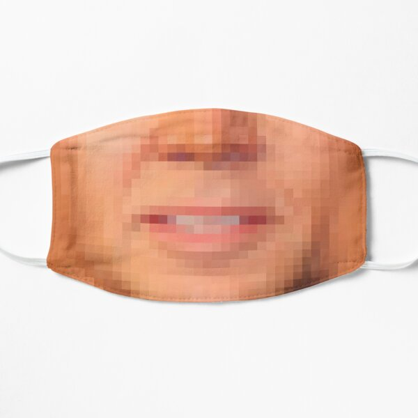 Pixellated facemask Mask