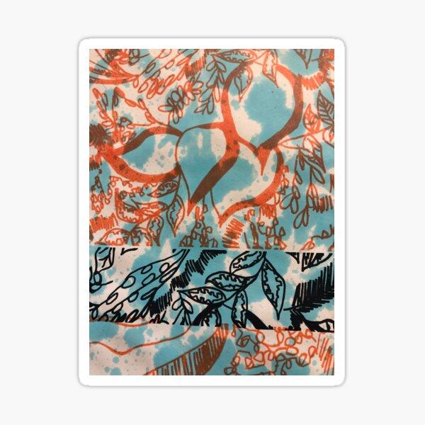 Graphic Bloom 4 Sticker
