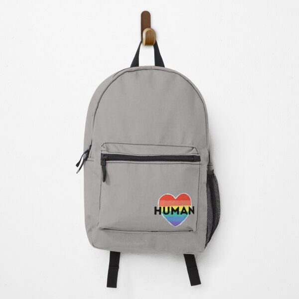 Human with Heart  Pride Month Backpack