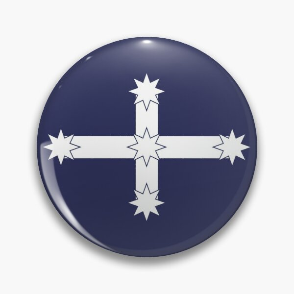 Australian Eureka Flag by Orikall Pin