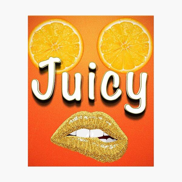 Sexy girl juicy seducing design Photographic Print