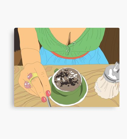 Coffee and Milk : Sweet Canvas Print