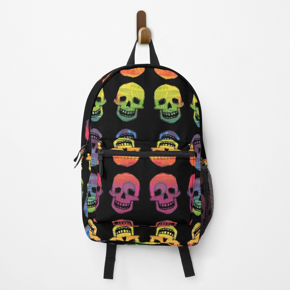 Rainbow Skulls Design- 2020 Backpack