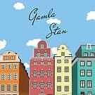 Gamla Stan Stockholm by Simon Alenius