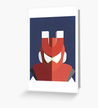 Magnet Man Greeting Card