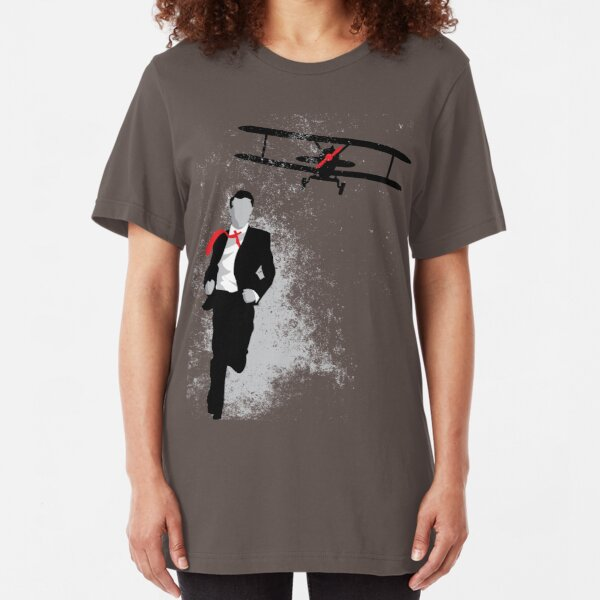 Map and Compass Slim Fit T-Shirt