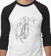 Australian Little Red Flying-fox Men's Baseball ¾ T-Shirt