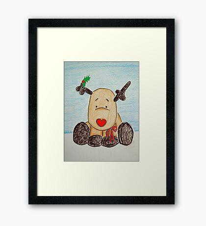 Holly BowLightly Framed Print
