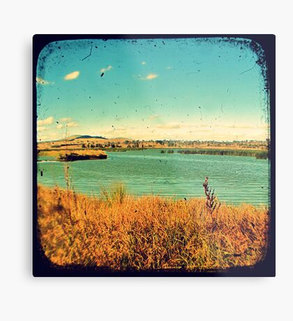 Dangars Lagoon Through The Viewfinder (TTV) Metal Print