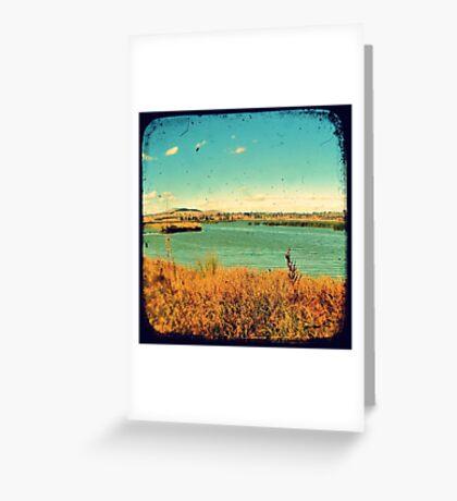 Dangars Lagoon Through The Viewfinder (TTV) Greeting Card