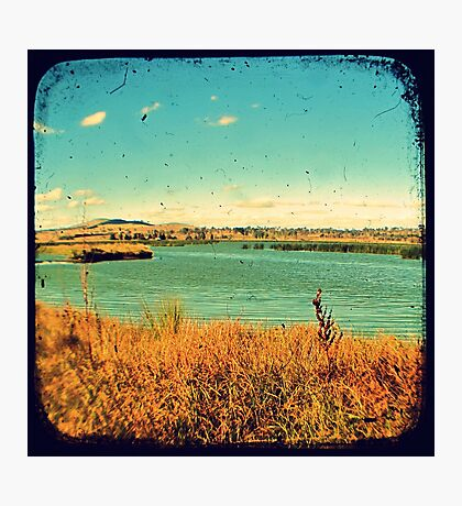 Dangars Lagoon Through The Viewfinder (TTV) Photographic Print