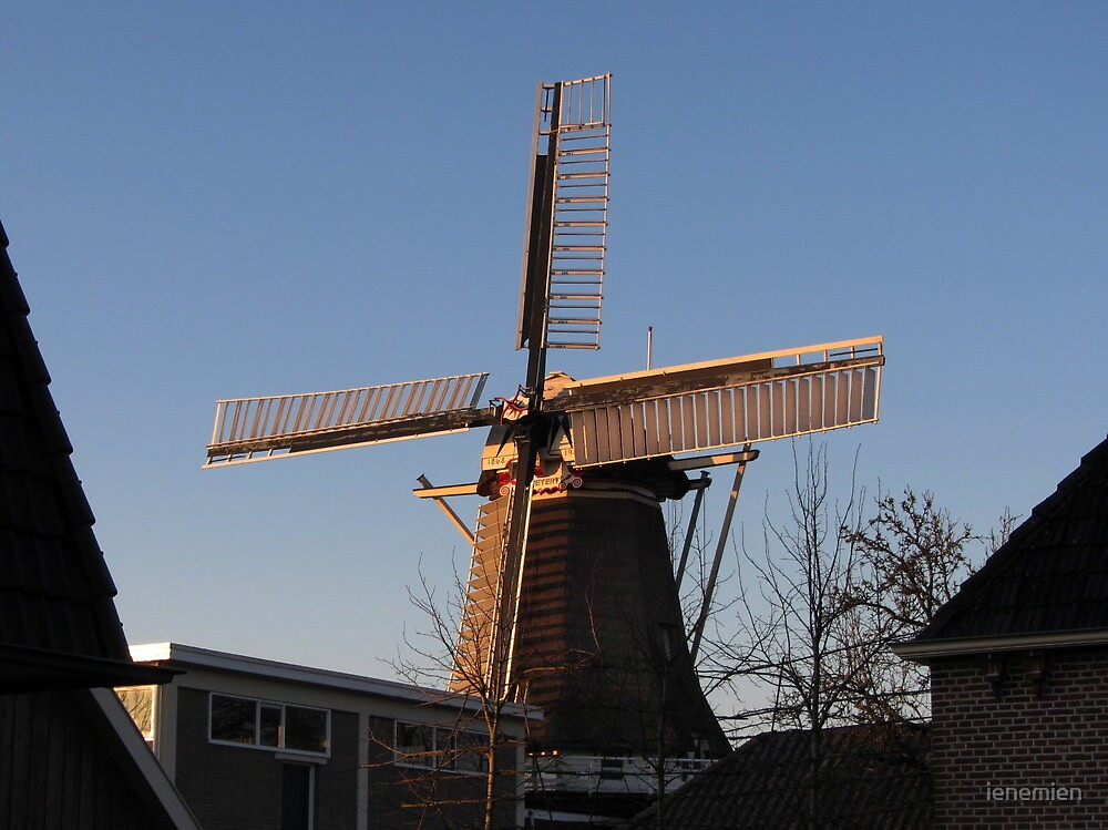 Windmill De Weyert by ienemien