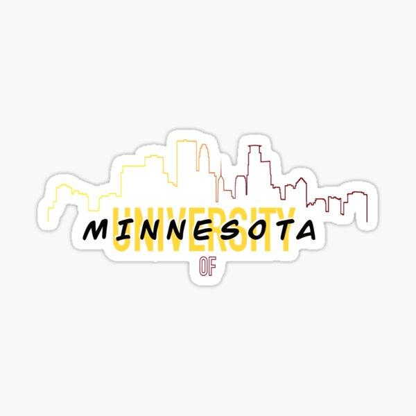 University of Minnesota Skyline Sticker