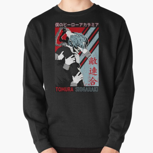Tomura Shigaraki Mein Held Academia Pullover