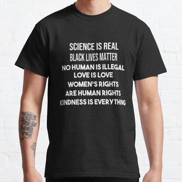 silence is real black matter , gift idea,black lives matter Classic T-Shirt