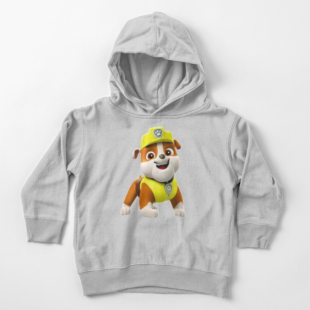 Rubble Paw Patrol  Toddler Pullover Hoodie