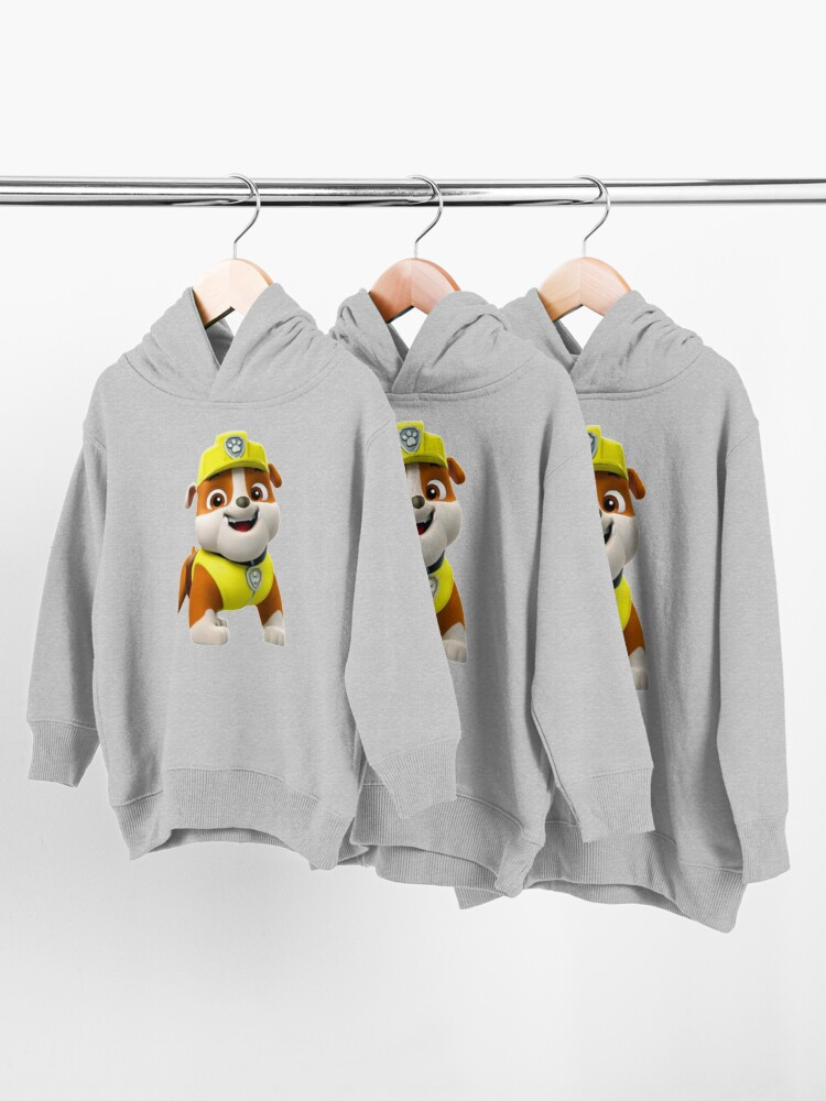Alternate view of Rubble Paw Patrol  Toddler Pullover Hoodie