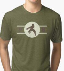 Badgermoles Pro-Bending League Gear (Alternate) Tri-blend T-Shirt